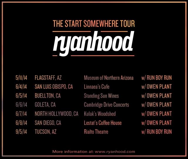 The Start Somewhere Tour - Summer Dates